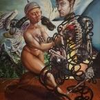 160x140cm, Oil on Canvas, 2006